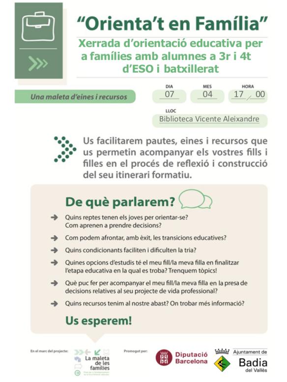 Comunicació a les famílies_Badia